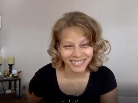 NEW Talk (Ep 2) Monica Bright & Yoga Online