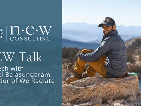 NEW Talk (Ep 5) Sashti Balasundaram: Ag Tech