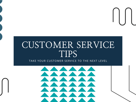 Customer Service Tips in 60 Seconds