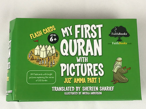 My First Quran With Pictures -Flash Cards