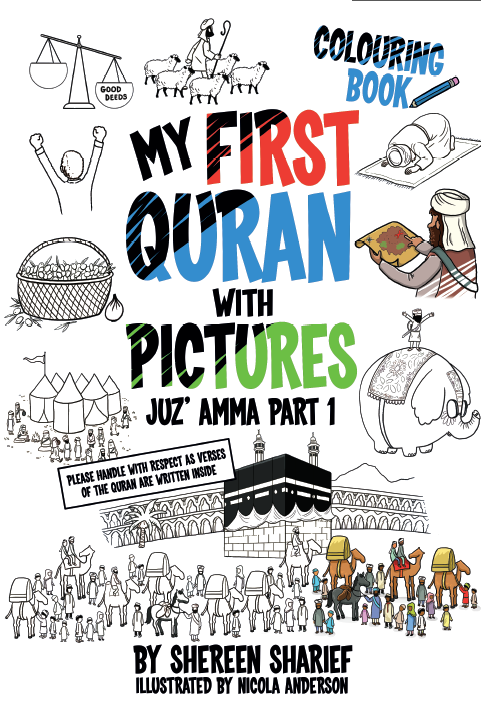 My First Quran With Pictures - Coloring Book - Second Edition