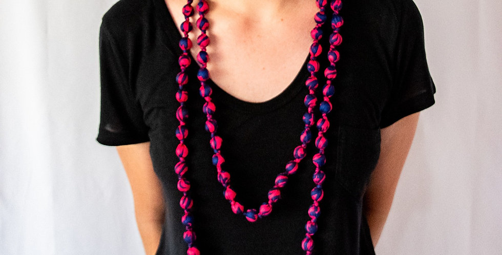 I Was A Sari Necklace - Long