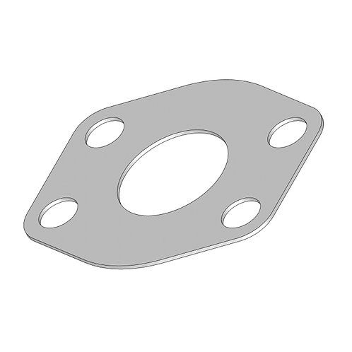 0900CP... SAE CODE 61 FLANGE CONNECTOR PLATE