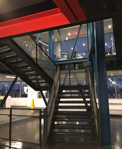 Bechtel HQ Stair