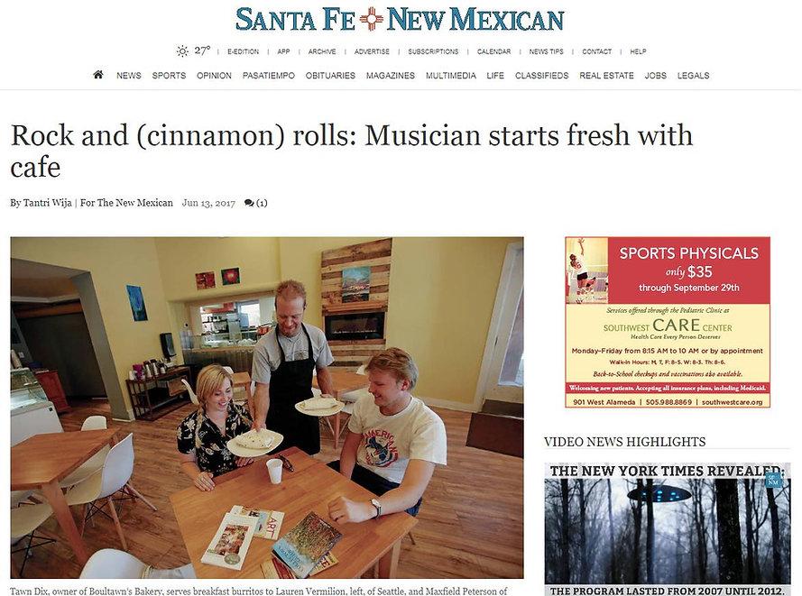Best Bagel in Santa Fe, New Mexico Cinnamon Rolls Tawn Dix