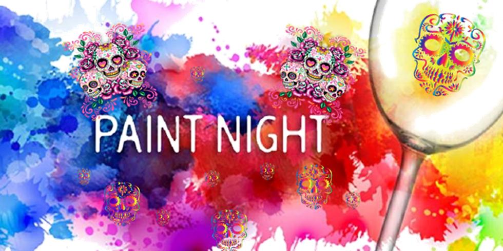 Sugar Skull Ornament Paint Night, Round 2!