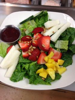 Berry Jicama Salad