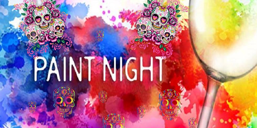 Sugar Skull Ornament Paint Night, Round 2