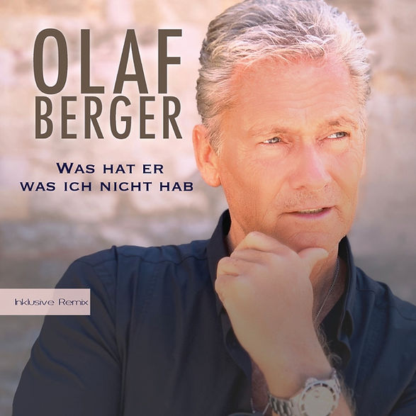 Cover Olaf Berger Was hat er was ich nic