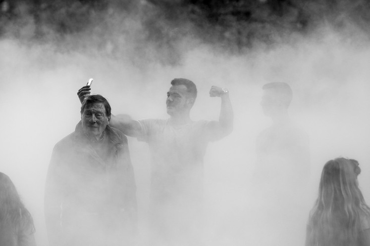 Fujiko Nakaya's 'London Fog'