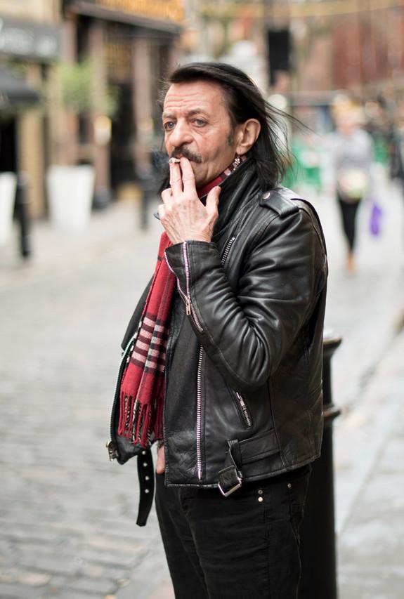 Gerry, 70. Musician.
