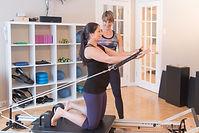 Pilates prénatal, cours prénataux.