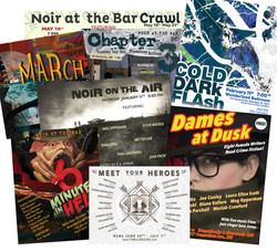Noir at the Bar DC Flyers/Posters