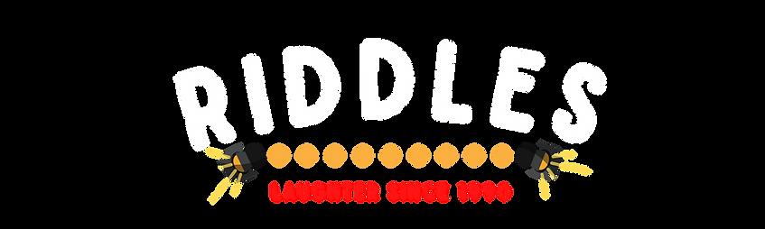 Riddles New Logo Black 2020 Transparent.