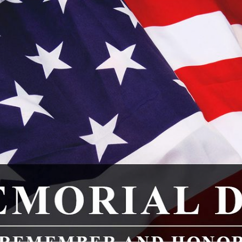Monday 5/31  Memorial Day  Closed  WE WILL BE HONORING ALL THAT HAVE SERVED