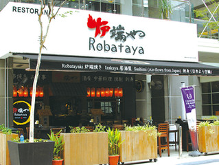 Over 50 types of freshly grilled Kushiyaki served at Robataya @ Publika