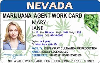 GoFingerprit MJ Establishment Agent Card