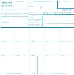 FD-258 Hard Card GoFingerprint