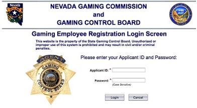 Nevada Gaming Control Login GoFingerprint