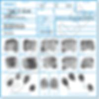 GoFingerprint FD258 Fingerprinting Card