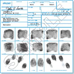 GoFingeprint FD258 Card