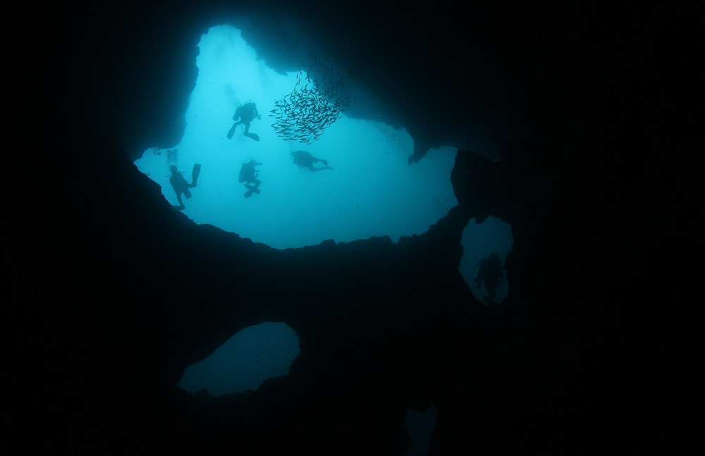 Caves at Pescador Island