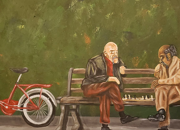 """""""Chess At The Park"""""""