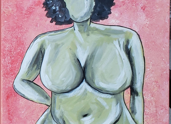 """Afro Lady"""