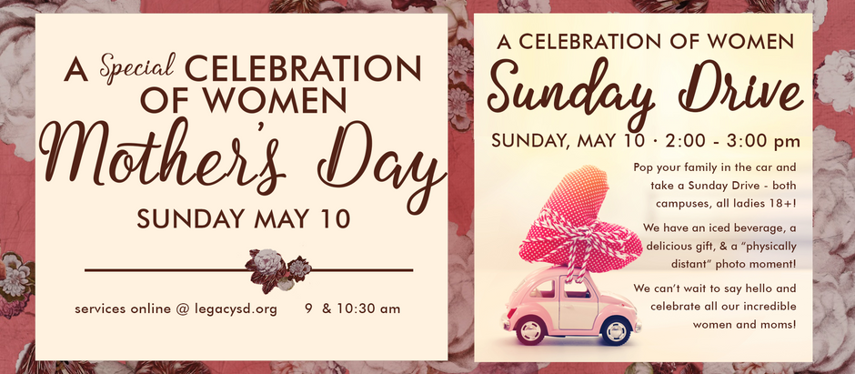 Mother's Day Weekend at Legacy