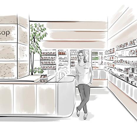 Aesop store