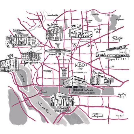 The Ned - Map of Washington