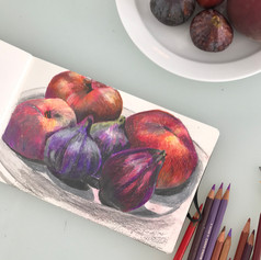 Figs and peaches
