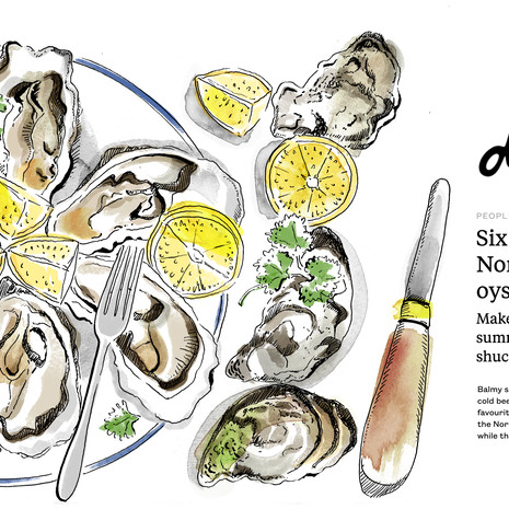 Best places to enjoy oysters