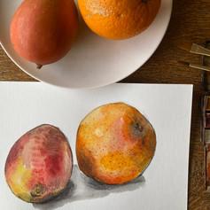 Orange and Mango