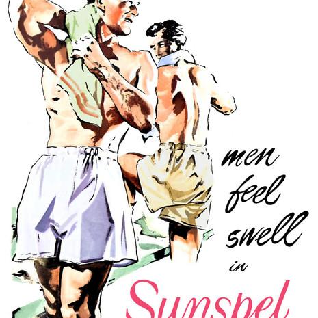 Sunspel Poster