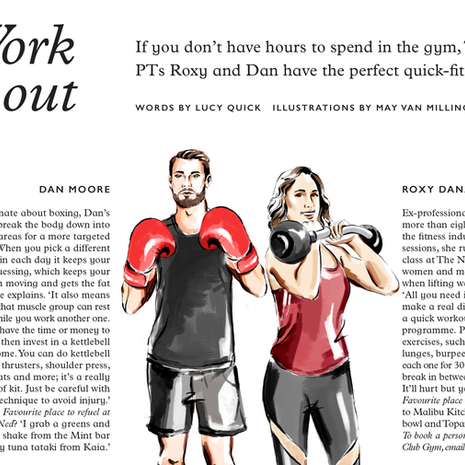 The Ned magazine - Work it out
