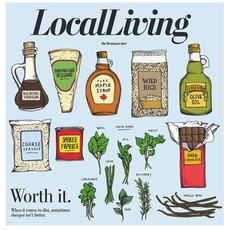 Washington Post Local Living cover