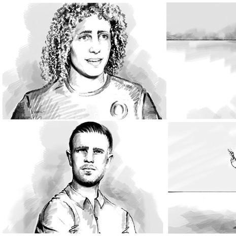 Football storyboard