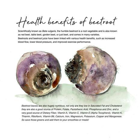 Health benefits of beetroot