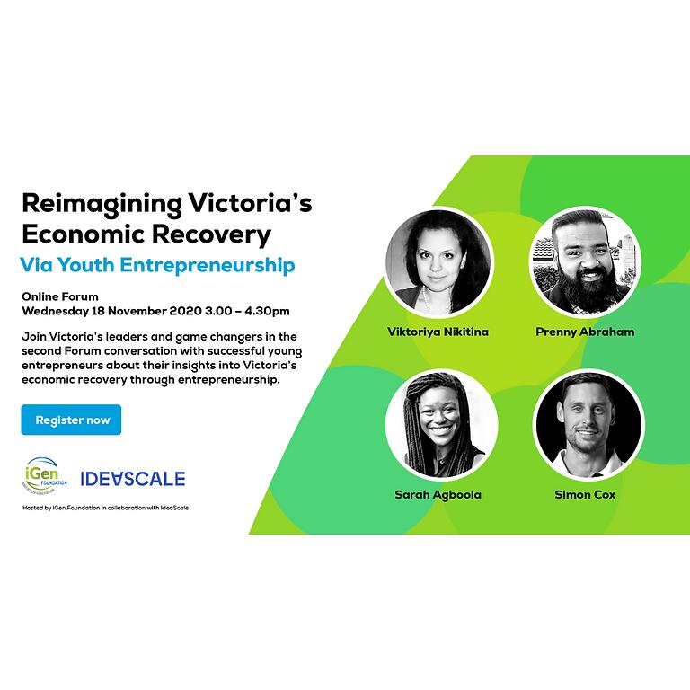 Reimagining Victoria's Economic Recovery