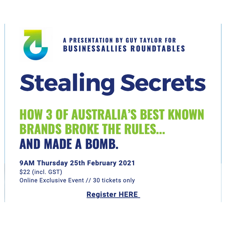 Stealing secrets with Guy Taylor