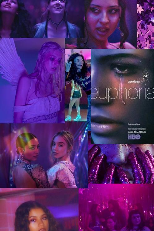 Euphoria Collage Kit