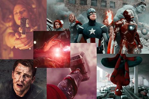 Marvel Collage Kit