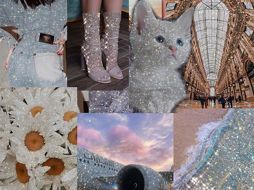 Glitter Collage Kit