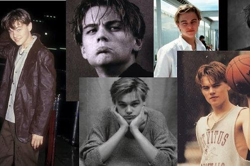 Leonardo DiCaprio Collage Kit