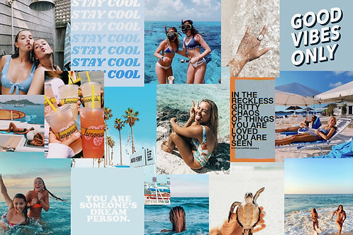 Beachy Collage Kit