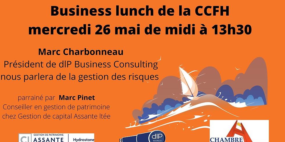 Business lunch virtuel - 26 mai 2021