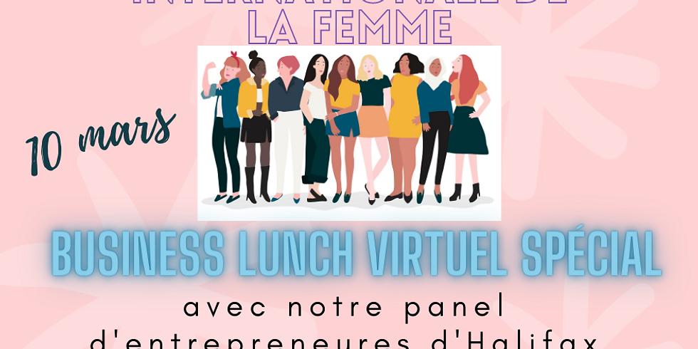 Business Lunch Virtuel spécial pour la journée internationale des droits de la Femme