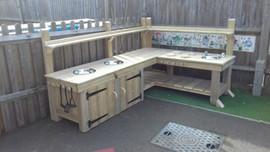 Bespoke Mud Kitchen