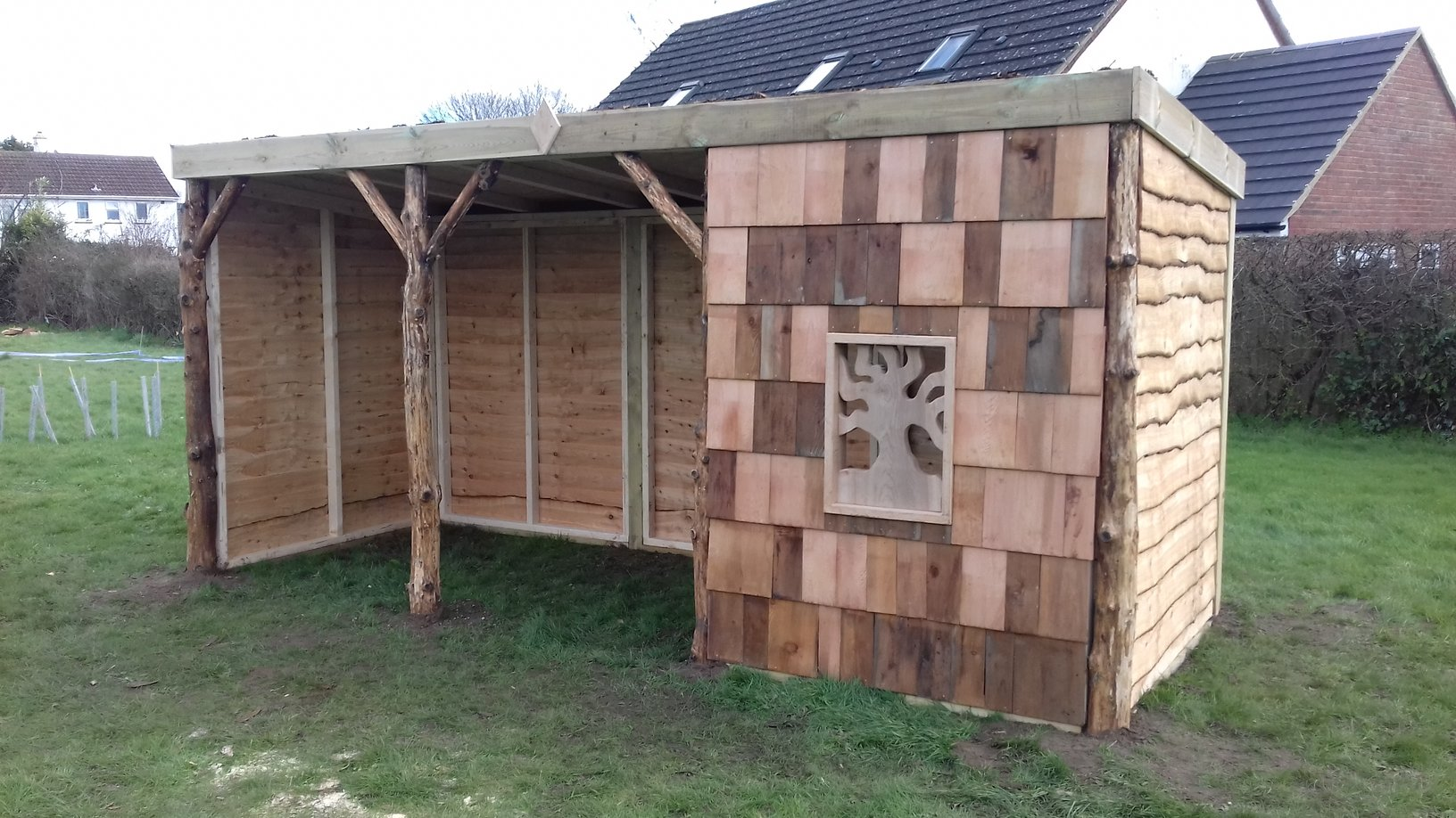 Forest school hut